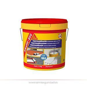 162606 - SikaFill 200 Fibras Rojo Cubo 5 Kg