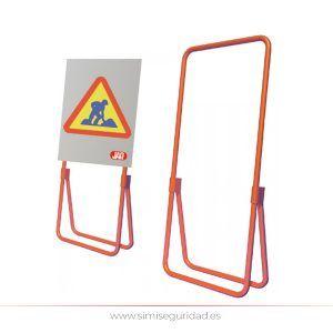 4051099 - Bastidor Metalico JAR Plegable para señal