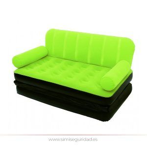 48991089 - Sofa cama Bestway doble hinchable verde