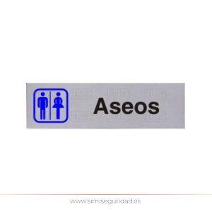 ALSER2943010 - Señal aluminio Alser ASEOS-SRA-CAB
