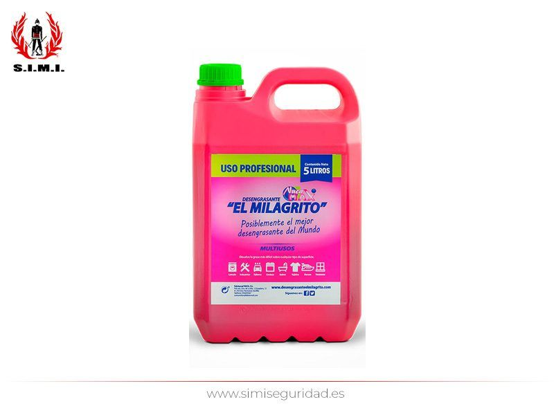 L18052214 - Desengrasante perfumado El Milagrito Garrafa 5 litros