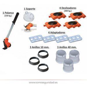 109210 - Mueve facil Basic Set de 5 piezas