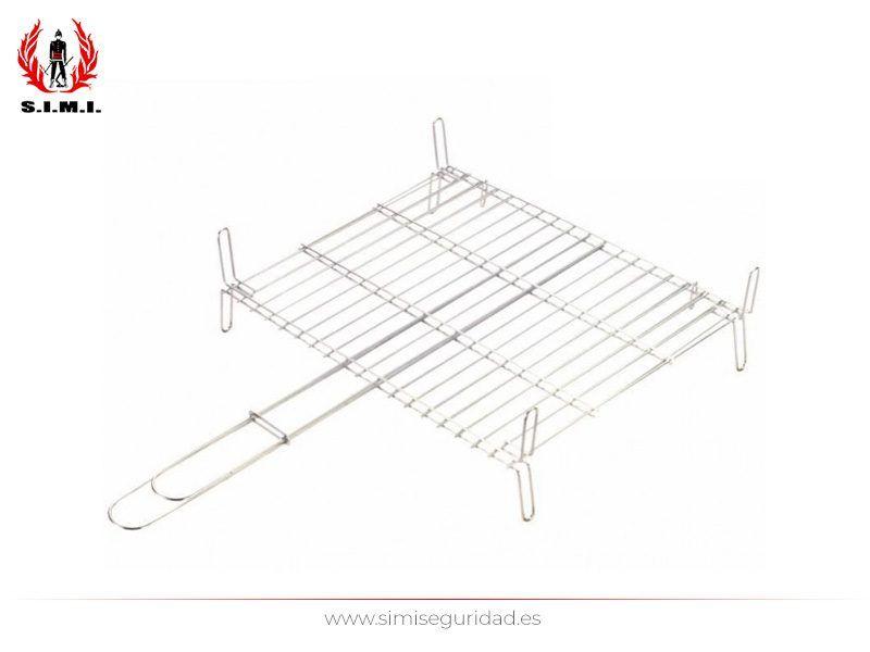 561040 - Parrilla doble 40 x 40 cm