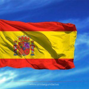 BANDERA175X50 - Bandera España estampada 75x50
