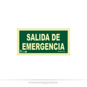 EYS1010U13 - Señal salida de emergencia PVC