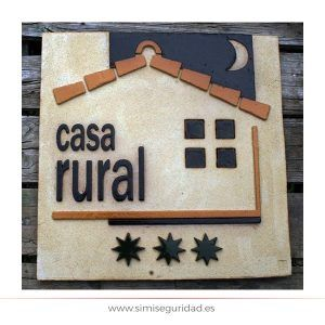PC003CRURAL - Placa casa rural 3 estrellas