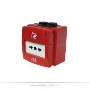WRP2R01 - Pulsador de alarma estanco