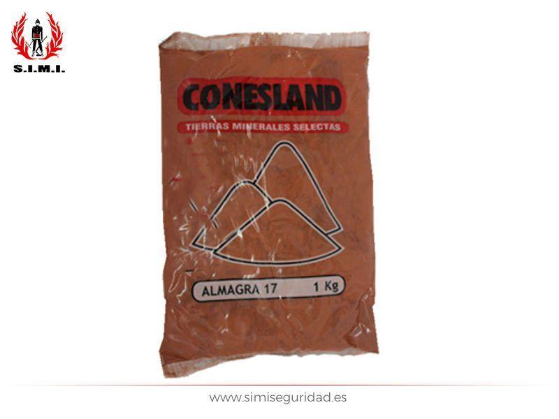 Tierra mineral Conesland 1Kg Almagra 17