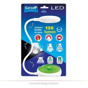 GARZA401235 - Lampara de mesa Garza Plegable USB-Pilas
