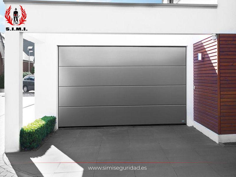 Puerta Garaje Seccional Premium De Acero Simi Seguridad