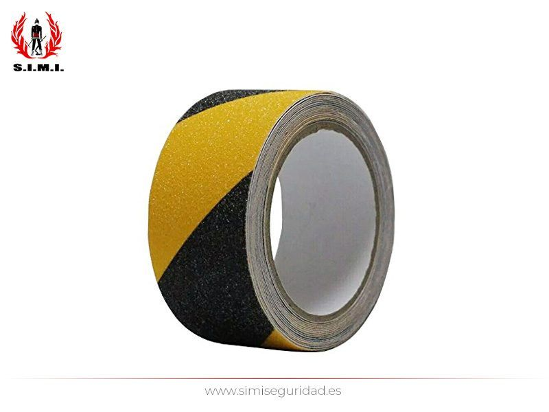 B61310A - Cinta antideslizante BRINOX negra amarilla 40 mm X 5 m
