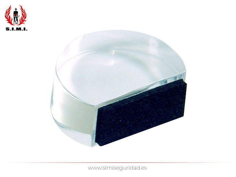 B90170H - Tope METACRILATO ovalado transparente