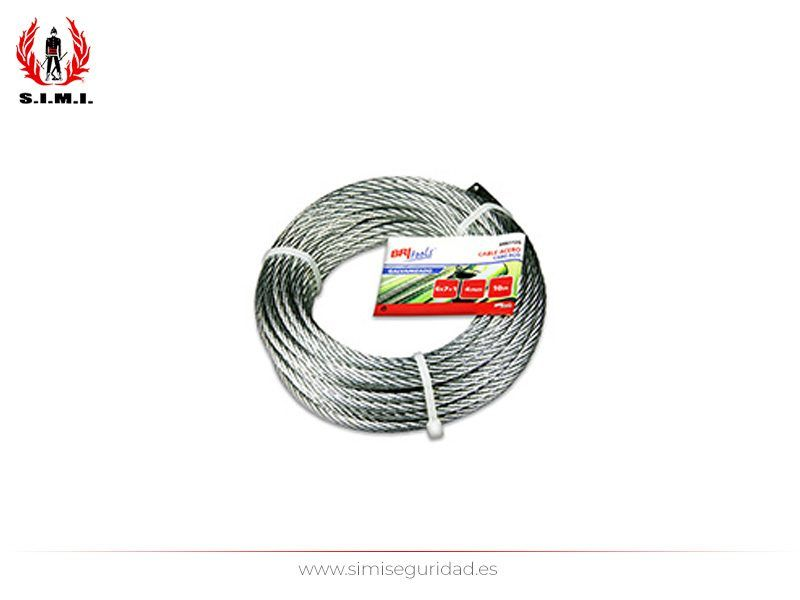 M86112G - Cable acero galvanizado 4 mm X 10 m