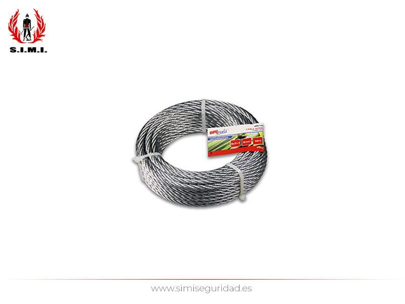 M86114G - Cable acero galvanizado 6 mm X 10 m
