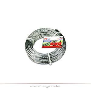M86117G - Cable acero galvanizado 4 mm X 15 m