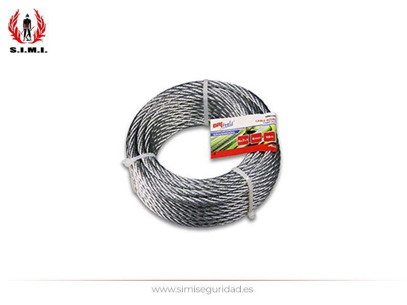 M86119G - Cable acero galvanizado 6 mm X 15 m