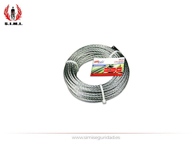 M86122G - Cable acero galvanizado 4 mm X 20 m