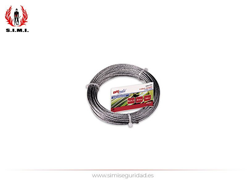 M86125G - Cable acero galvanizado 2 mm X 25 m