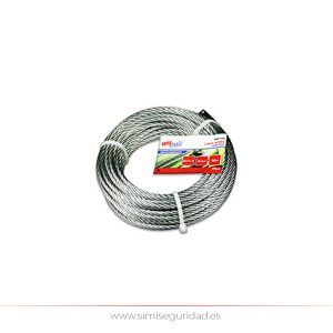 M86127G - Cable acero galvanizado 4 mm X 25 m