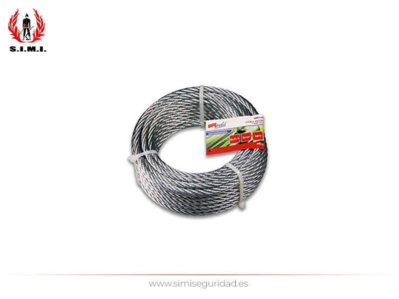M86129G - Cable acero galvanizado 6 mm X 25 m