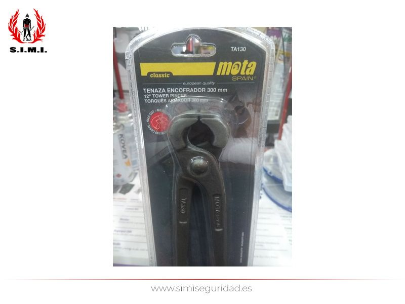 TA130 - Tenaza encofrador MOTA 300 mm 1-2 corte