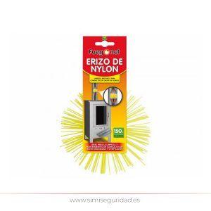 214100 - Deshollinador de erizo en nylon 150 mm