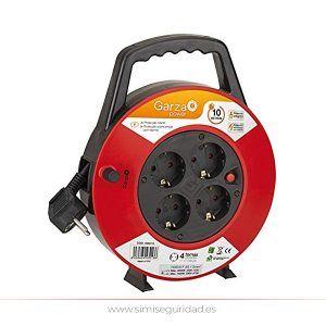GARZA430013 - Enrolla-cables GARZA 3G 1.5 mm x 10 m