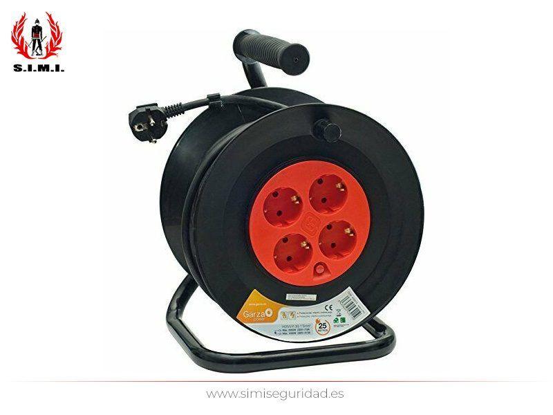 GARZA430015 - Enrolla-cables GARZA 3G 1.5 mm x 25 m