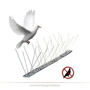 06072 - Disuasorio para aves varillas inoxidables