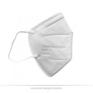 FACEMASK FPP2-2 KN95 - Mascarilla de protección FFP2 sin filtro KN95