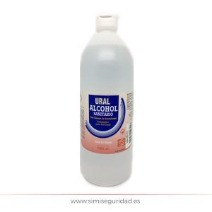 Alcohol sanitario Ural 1L 70º
